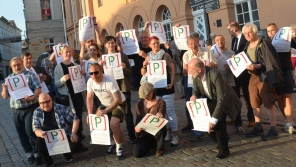 Demonstration für Paulshöhe Schwerin