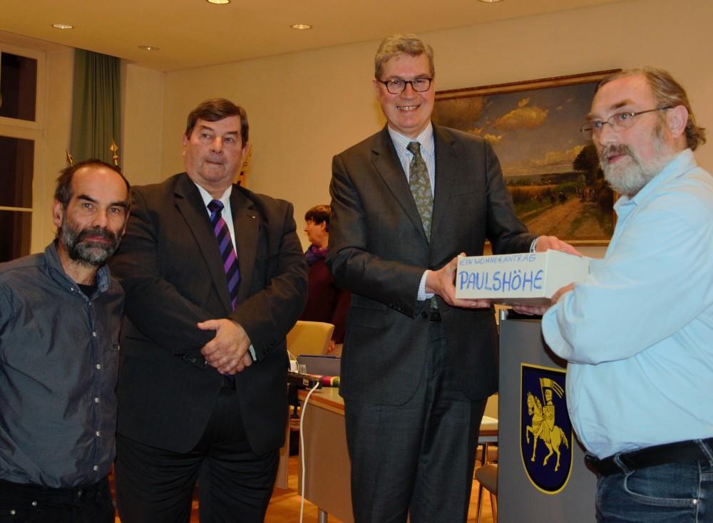 Antrag Bürgerantrag Paulshöhe