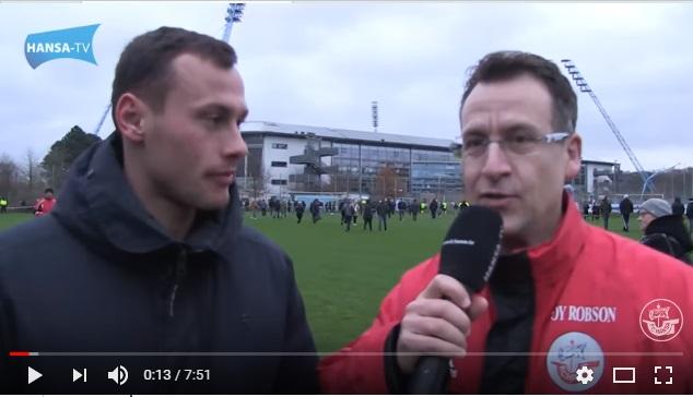 Danke an den Fan-TV des F.C. Hansa Rostock für die Rückendeckung!