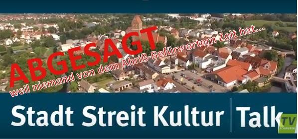"""TV:Schwerin """"Streit-Talk"""" zum Thema Paulshöhe abgesagt."""