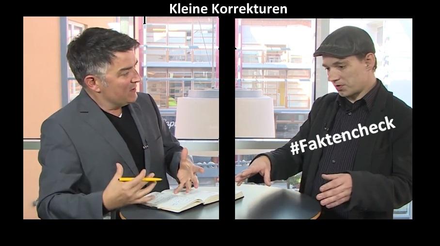 #Faktencheck – Korrekturen und Ergänzungen zum TV:Schwerin Interview