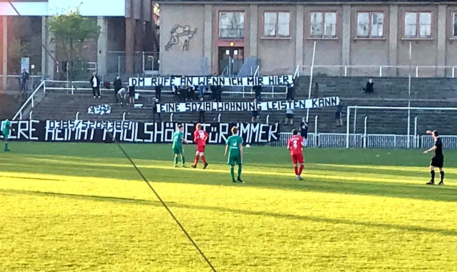 Nachricht von der Paulshöhe an den SPD Fraktionschef.
